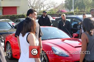Tyga Hit With Legal Papers At Shoe Launch