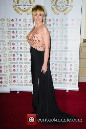 Kierston Wareing - National Film Awards at Porchester Hall - Arrivals - London, United Kingdom - Tuesday 31st March 2015