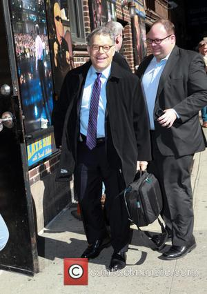 Senator Al Franken - Celebrities arriving at the 'Late Show with David Letterman' in New York City - New York,...