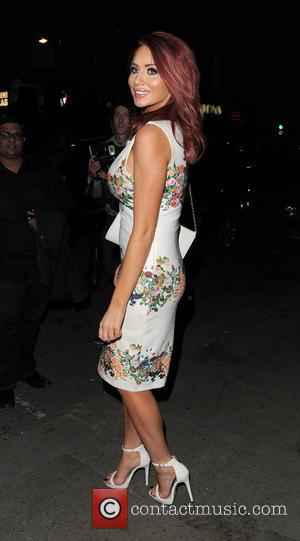 Amy Childs - Foxy Bingo Love Shop pop-up launch in London - Arrivals - London, United Kingdom - Wednesday 1st...
