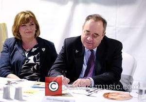 Fiona Hyslop and Alex Salmond