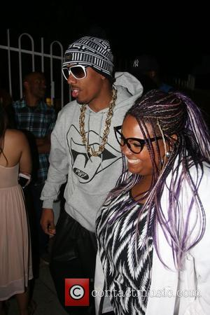 Nick Cannon and Echo Hattix