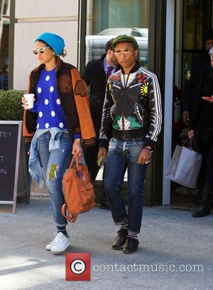 Pharrell Williams Helping Develop Lewis Hamilton's Music Career