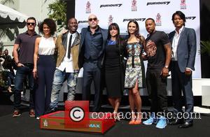 Luke Evans, Nathalie Emmanuel, Tyrese Gibson, Vin Diesel, Michelle Rodriguez, Jordana Brewster, Ludacris and Sung Kang