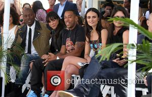 Tyrese Gibson, Michelle Rodriguez, Ludacris and Jordana Brewster - Vin Diesel's hand-print and foot-print ceremony at TCL CHINESE THEATRE IMAX...