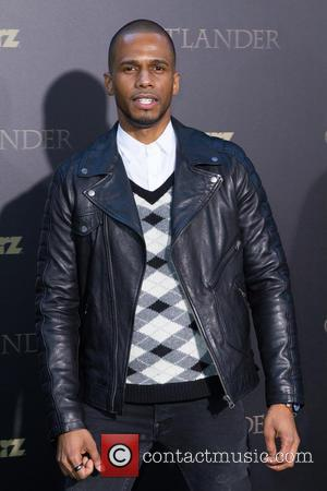 Eric West - Mid-season New York premiere of 'Outlander' at Ziegfeld Theater - Red Carpet Arrivals at Ziegfeld Theater -...