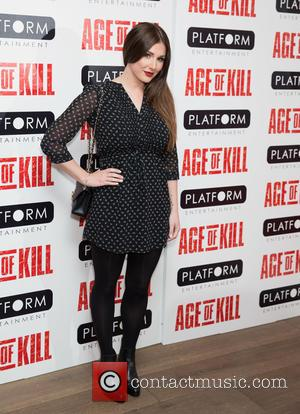 Lucy Pinder - Private screening of 'Age Of Kill' at Ham Yard Hotel - Red Carpet Arrivals at Ham Yard...