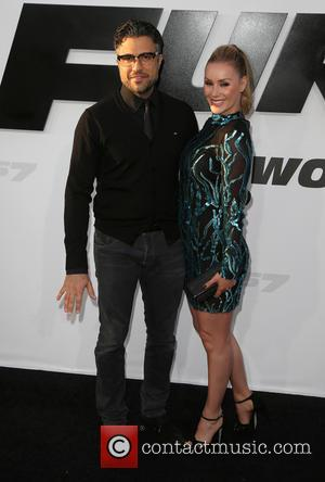 Jaime Camil and Heidi Balvanera - Premiere of 'Furious 7' at the TCL Chinese Theatre IMAX at TCL Chinese Theatre...