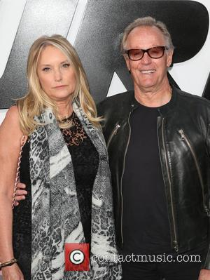 Peter Fonda and Margaret DeVogelaere - Premiere of 'Furious 7' at the TCL Chinese Theatre IMAX at TCL Chinese Theatre...