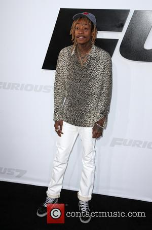 Wiz Khalifa - Premiere of 'Furious 7' at the TCL Chinese Theatre IMAX at TCL Chinese Theatre IMAX - Hollywood,...