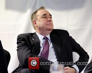 Alex Salmond - Alex Salmond attends SNP Livingston Constituency Candidate Hannah Bardell's adoption dinner at Livingston FC's  stadium the...