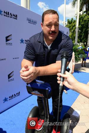 Kevin James - Photographs from the day the American movie star Kevin James received his star on Miami Walk of...