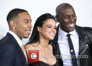Ludacris, Michelle Rodriguez and Tyrese Gibson
