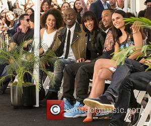 Luke Evans, Nathalie Emmanuel, Tyrese Gibson, Michelle Rodriguez, Ludacris and Jordana Brewster