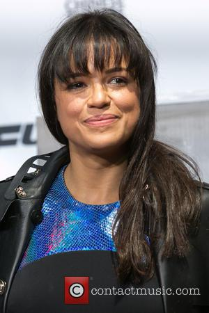 Michelle Rodriguez - Shots from American film actor who has starred in the Fast and Furious movie franchise Vin Diesel's...