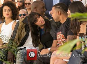Nathalie Emmanuel, Tyrese Gibson, Michelle Rodriguez, Ludacris and Jordana Brewster
