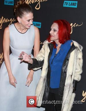 Sutton Foster and Patricia Field