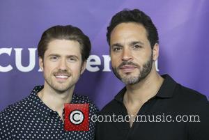 Aaron Tveit and Daniel Sunjata