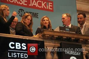 Tom Straw, Edie Falco, Betty Gilpin, Stephen Wallem, Merritt Wever, Dominic Fumusa and Liz Flahive