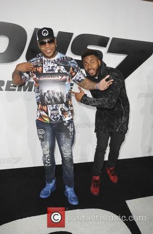 Flo Rida - A host of stars were snapped as they attended the world premiere of