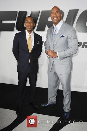 Ludacris and Dwayne Johnson