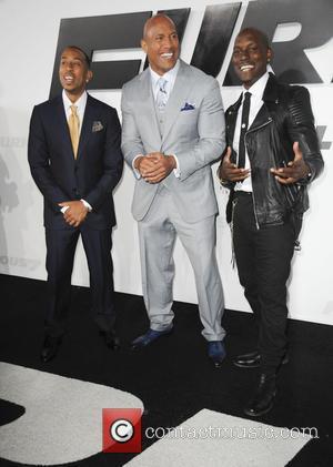 Ludacris, Dwayne Johnson and Tyrese Gibson
