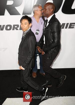 James Wan and Tyrese Gibson