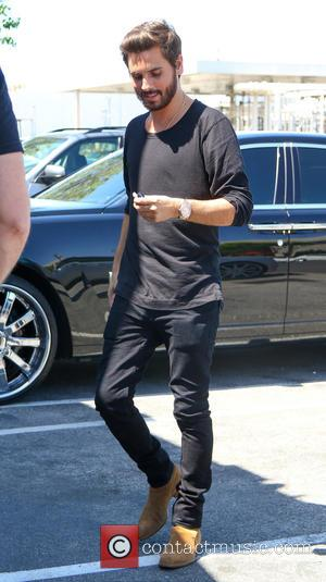 Scott Disick - Scott Disick goes to a studio in Los Angeles - Los Angeles, California, United States - Thursday...