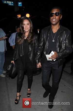 Babyface Edmonds and Nicole Pantenburg - Celebrities arrive at Craig's restaurant in West Hollywood - Los Angeles, California, United States...