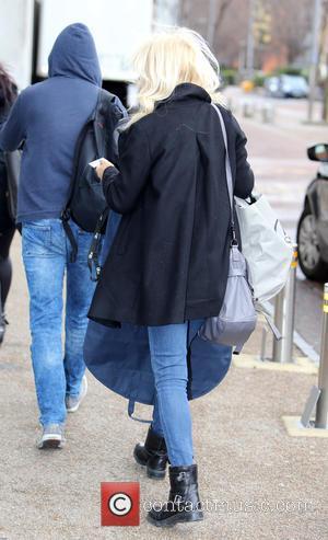 Gaby Roslin - Gaby Roslin outside the ITV Studios - London, United Kingdom - Thursday 2nd April 2015