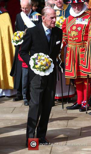 Prince Philip - Queen Elizabeth II and Prince Philip attend Maundy Service at Sheffield Cathedral - Sheffield, United Kingdom -...