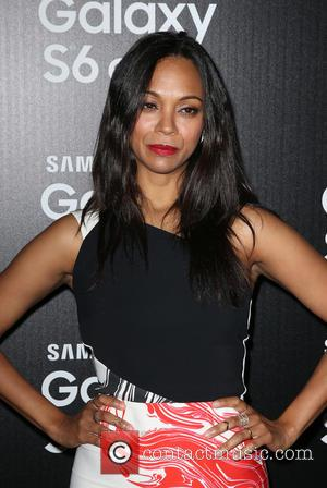 Zoe Saldana - A variety of stars attended as the Technology brand Samsung Celebrated the Launch Of their new phone,...