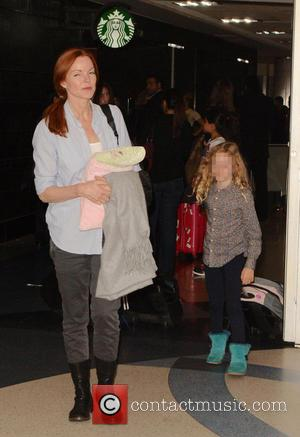 Marcia Cross and Eden Mahoney