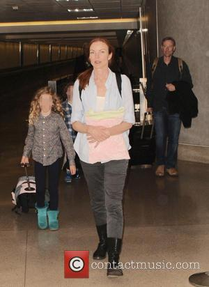 Marcia Cross, Eden Mahoney, Savannah Mahoney and Tom Mahoney