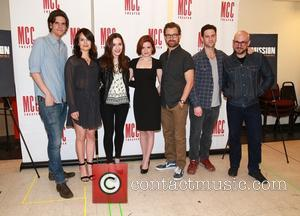 Alex Timbers, Elizabeth Reaser, Talene Monahon, Nicole Lowrance, Lucas Near-verbrugghe, Justin Bartha and Robert Askins