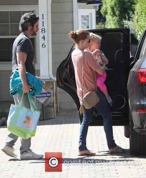 Amy Adams, Darren Le Gallo and Aviana Le Gallo