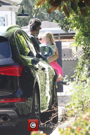 Amy Adams, Darren Le Gallo and Aviana Le Gallo - Amy Adams, Darren Le Gallo, and their daughter Aviana Le...