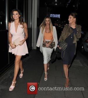 Jessica Wright, Lauren Pope and Ferne Mccann