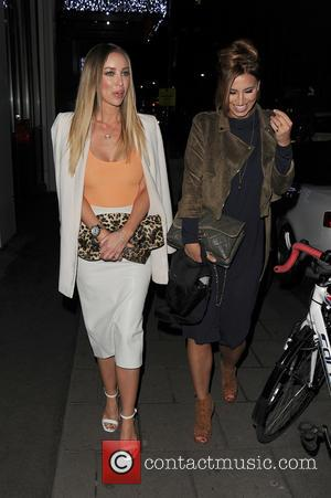 Lauren Pope and Ferne Mccann