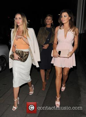 Lauren Pope, Ferne Mccann and Jessica Wright