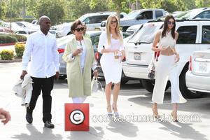 Corey Gamble, Kris Jenner, Khloe Kardashian and Kendall Jenner