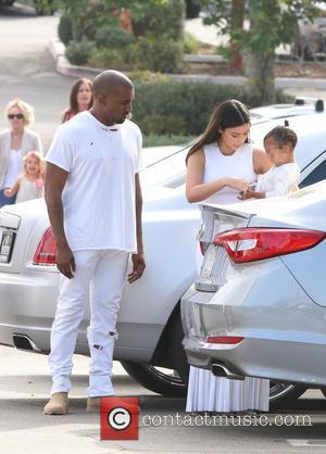 Kanye West, Kim Kardashian and North West