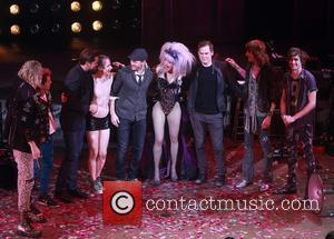 Andrew Rannells, John Cameron Mitchell, Neil Patrick Harris, Lena Hall, Michael C. Hall and Angry Inch Band Members