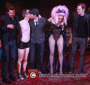 Andrew Rannells, John Cameron Mitchell, Neil Patrick Harris, Lena Hall and Michael C. Hall