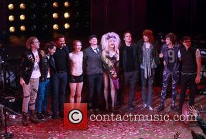 Andrew Rannells, John Cameron Mitchell, Neil Patrick Harris, Lena Hall, Michael C. Hall, Stephen Trask and Angry Inch band members...