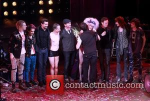 Andrew Rannells, John Cameron Mitchell, Neil Patrick Harris, Lena Hall, Stephen Trask, Michael C. Hall and Angry Inch Band Members