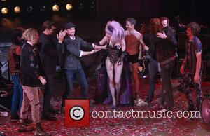 Andrew Rannells, Neil Patrick Harris, Lena Hall, John Cameron Mitchell, Michael C. Hall and Angry Inch Band Members