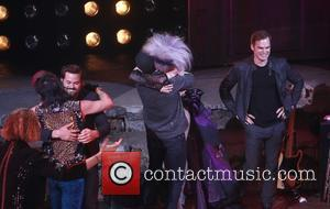 Andrew Rannells, Neil Patrick Harris, Lena Hall and Michael C. Hall