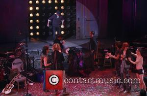 Neil Patrick Harris, Lena Hall and John Cameron Mitchell - Lena Hall's final performance in Hedwig and the Angry Inch...