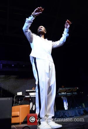Keith Sweat - Shots of a variety of stars as they attend and perform at R&B Love Fest 2015 which...